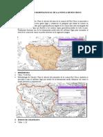 Propiedades Morfológicas de La Cuenca de Río Chico