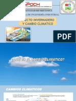 Efecto Invernadero Cambio Climatico