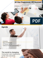 1032 the New User Experience for SAP ERP Human Capital Management HR Renewal