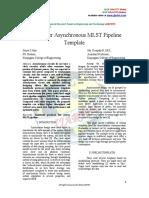 Low Power Asynchronous MLST Pipeline
