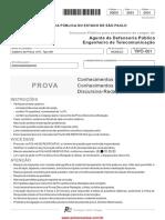AGENTE DE DEFENSORIA PUBLICA ENGENHEIRO DE TELECOMUNICAÇÕES - DEFENSORIA PUBLICA DE SP 2015