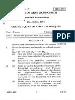 MEC-003 QT 2014