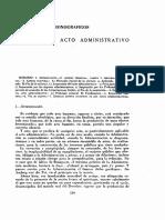 Eficacia Del Acto Administrativo - Guaita