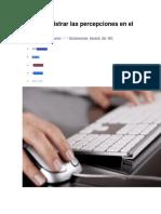 Como Registrar Las Percepciones en El PDT 621