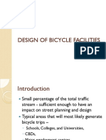 Design of Bicycle Facilities