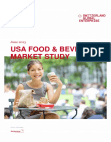 Market Study on Food and Beverage - USA