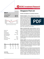 2010 Apr 09 - OCBC Report - Singapore Post
