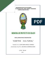 CENTRO CULTURAL EL ALTO