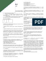 Matemática - Exercícios de Análise Combinatória com Gabarito