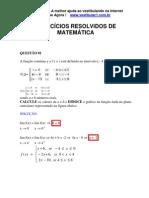 Matemática - Exercícios Resolvidos - Vestibular1 - I