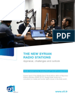 Study on the New-Syrian Radios Stations