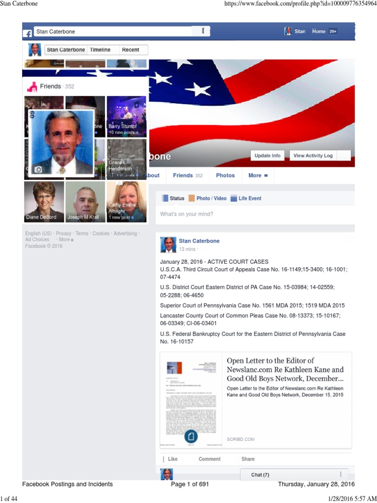 ALL FACEBOOK Postings and Incidents From July 29 to January 28, 2016 |  International Politics | Islamic State Of Iraq And The Levant