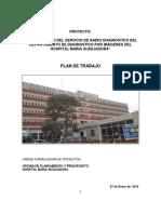 Plan de Trabajo PIP Rayos X Hospital María Auxiliadora