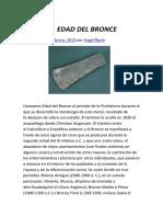La Edad del Bronce