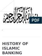 history of Islamic Banking