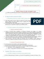 Fiche 1213- Intérêts Et Limites Des Tables de Mobilité Sociale