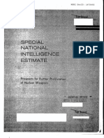 CIA 1974 Special NIE Confirms Israels Nuclear Weapons