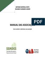 Manual Criação Associação Oab