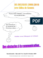 Des Obstacles à La Communication