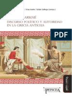 Discurso Politico Y Autoridad en La Grecia Antigua