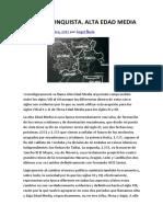 La Reconquista. Alta Edad Media