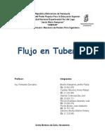Flujo en Tuberías