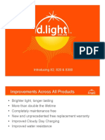 New Product Introduction d.light Solar