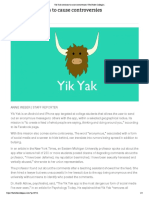 yik yak continues to cause controversies   the butler collegian