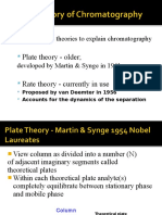 Theories of Chromatography