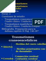 Clase 2-Traumatismos Craneofaciales