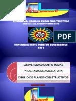 Presentacion de Clase Dibujo de Plano Arquitectonico Programacion