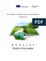 Booklet - Earth Challenge