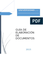 Guia Elaboracón Documentos Mgs. Melissa Loor Mero