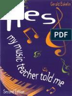Gerald Eskelin - Lies My Music Teacher Told Me (Second Edition)