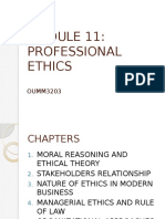 Professional Ethics 1