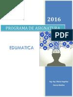 Programa de Asignatura Edumatica