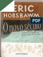 HOBSBAWN, Eric - O Declínio Do Império Do Ocidente in O Novo Século - Entrevista a Antonio Polito