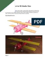 Cartoon Effect in 3D Studio Max