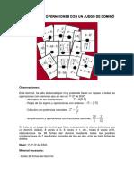 Domino Jerarquia de Las Fracciones 3
