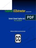 Tutorial CCExtractor Extrair Closed Caption DVD para.SRT
