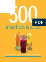500 Smoothies Juices 2011