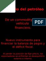 El Precio Del Petróleo