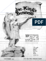 The King's Business - Volume 10, Issue 10 - October 1919