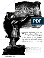 The King's Business - Volume 10, Issue 9 - September 1919