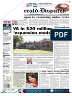 Front page — The Herald-Dispatch, July 15, 2009