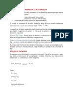 Ecuaciones Fundamentales de la Hidráulica