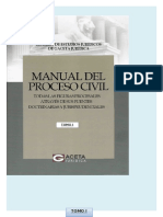 Tomo i Procesal Civil 2015
