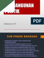 Kuliah Pembangunan Politik (1)