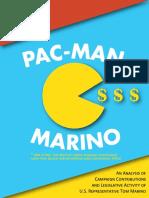 PAC-Man Marino - Campaign Finance Analysis