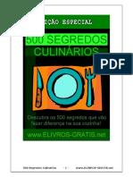 500 segredos culinarios